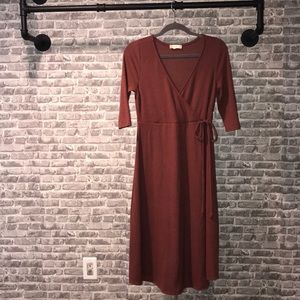 Altered State Novia Wrap Dress